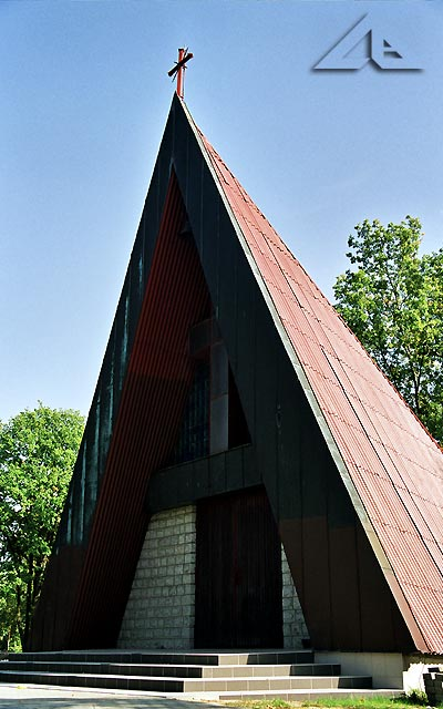Kaplica na wołomińskim cmentarzu.