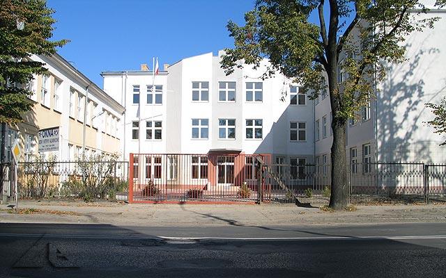 Dobudowana część budynku szkoły nr 4