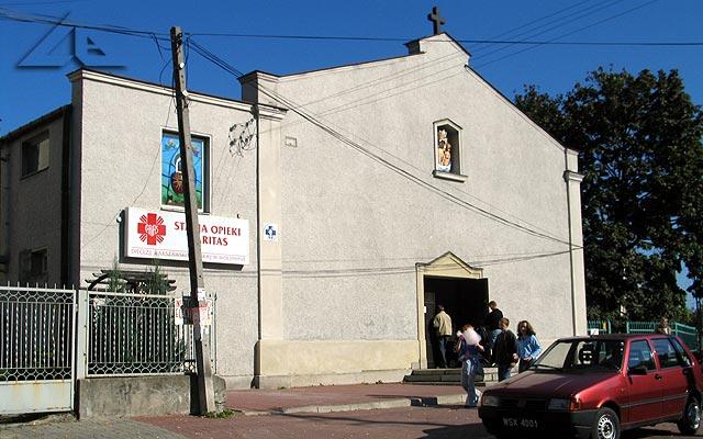 Kaplica przy ulicy Kościelnej zbudowana w roku 1946.