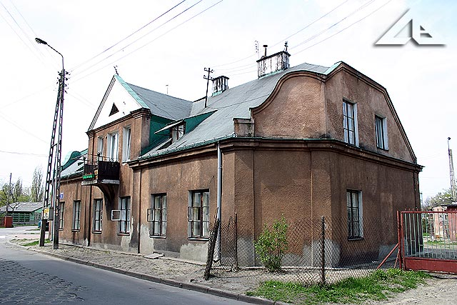 Dom rodzinny znajdujący się na początku ulicy Warszawskiej