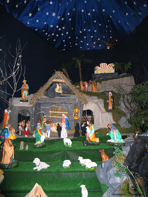 Szopka Bożonarodzeniowa w kościele pw. Matki Boskiej Częstochowskiej w Wołominie