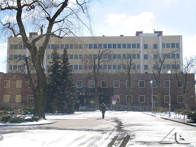 Budynek Sądu Rejonowego.
