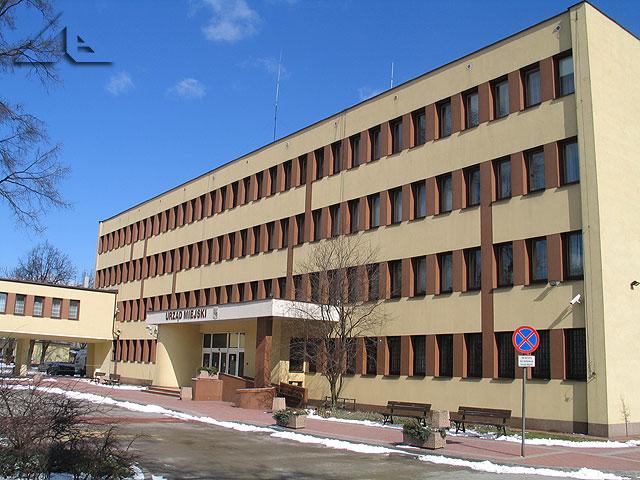 Budynek Urzędu Miejskiego.