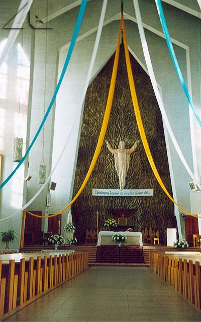Ołtarz w kościele Św. Józefa.
