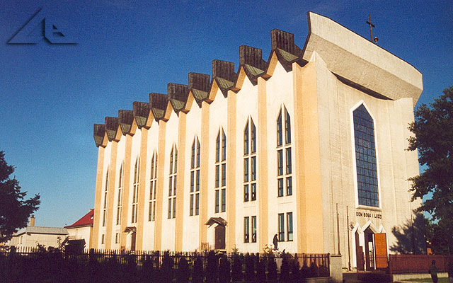 Drugi w kolejności wybudowania kościół pw. Świętego Józefa Robotnika.