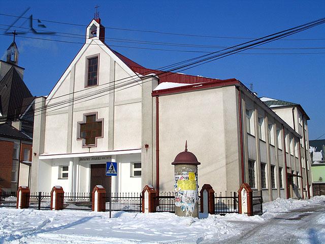 Kaplica przy ulicy Kurkowej w parafii Matki Boskiej Królowej Polski.