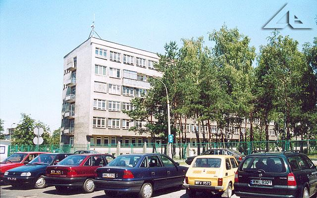 Szpital w Wołominie. Od roku 1975 chyba nic nie zmieniło się.