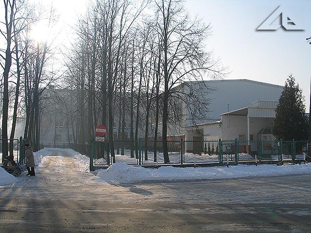 Wejście główne do szkoły nr 5.
