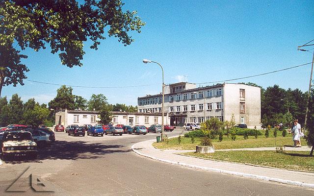 Oddział wewnętrzny szpitala w Wołominie.