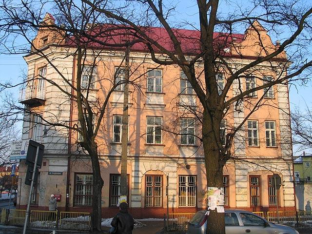 Budynek szkoły nr 1 od strony zachodniej.