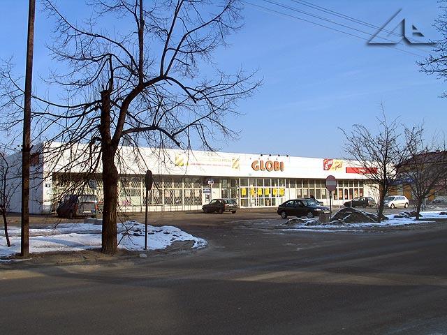 Sklep Globi przy ulicy Wileńskiej.