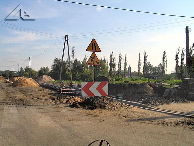 Remont ulicu Reja na odcinku między Wileńską a Kościelną.