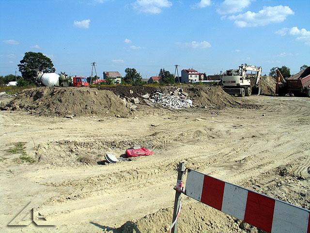 Rozpoczęcie budowy parku rowerowego czyli tzw. dirt parku.