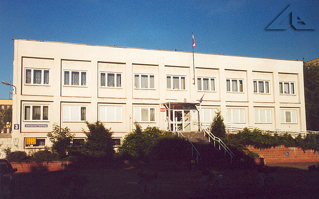 Budynek Starostwa Powiatowego.