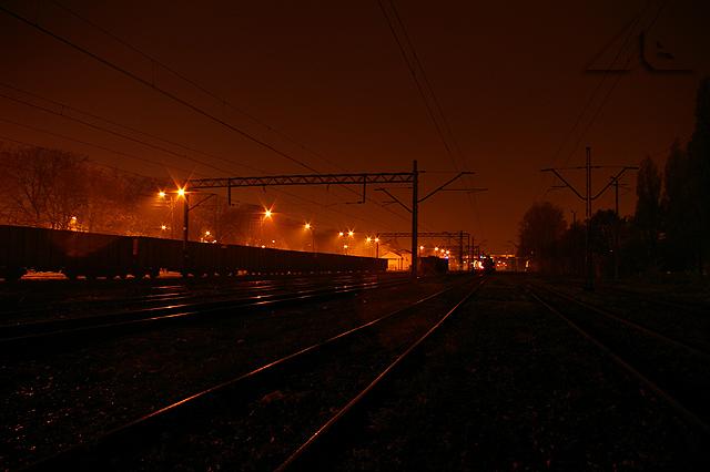 Bocznica kolejowa w Wołominie
