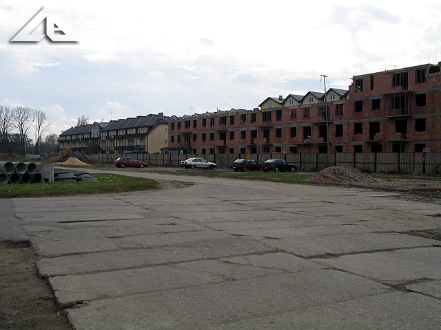 Ulica Reja, której remont rozpoczął się w październiku 2007 r.