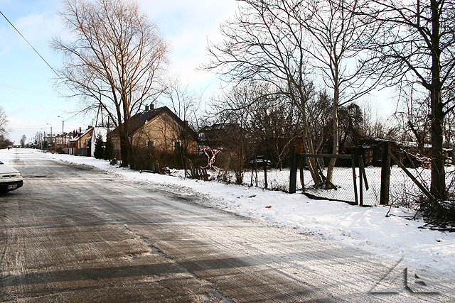 Skrzyżowanie ulic Lipińskiej z Reja. W najbliższym czasie ulica Reja ma zostać przedłużona do ulicy 1 Maja.