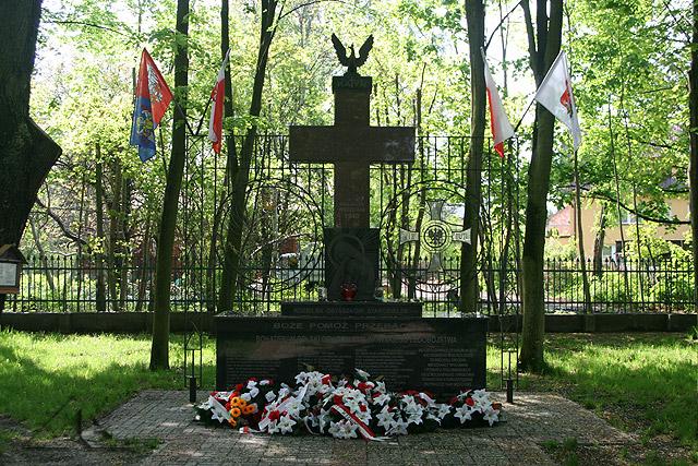 Pomnik ofiar pomordowanych w Katyniu w 1940 roku.