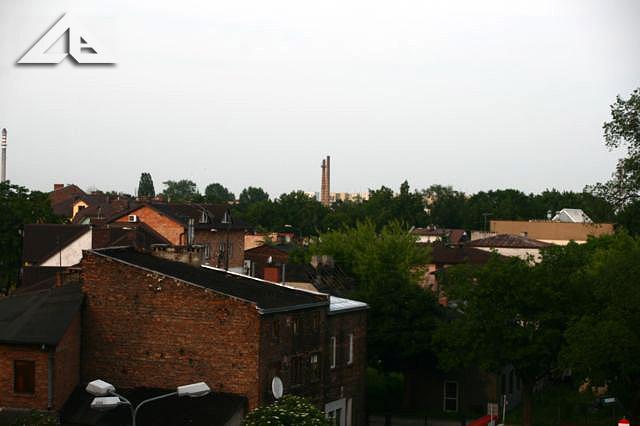 Widok z budynku przy Wileńskiej 32 (stara szkoła nr 1) w kierunku północno-wschodnim