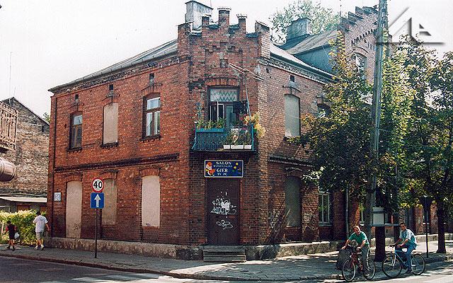 W tym budynku w latach od 1919 do 1939 znajdowała się pierwsza komenda policji