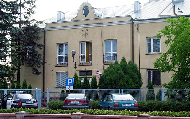 Komisariat policji przy ulicy Wileńskiej